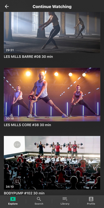 Les Mills On Demand by A Lady Goes West