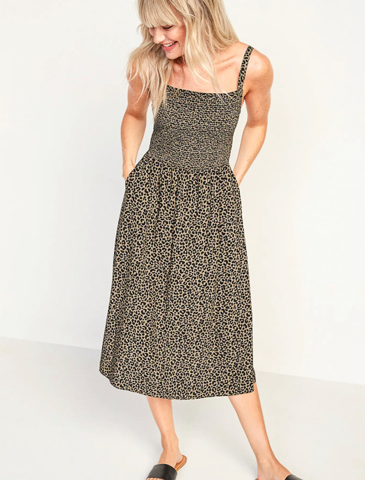 Animal print dress by A Lady Goes West May 2021