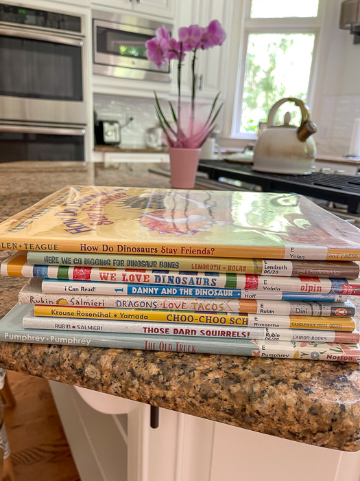 Books for Brady by A Lady Goes West May 2021