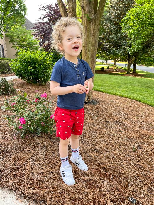 Brady before preschool by A Lady Goes West May 2021