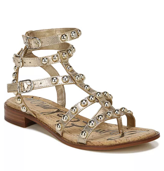 Gladiator sandals by A Lady Goes West May 2021