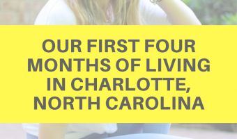 Our first four months of living in Charlotte, North Carolina by A Lady Goes West