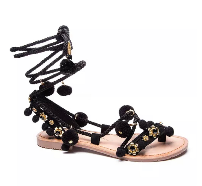 Rope sandals by A Lady Goes West May 2021
