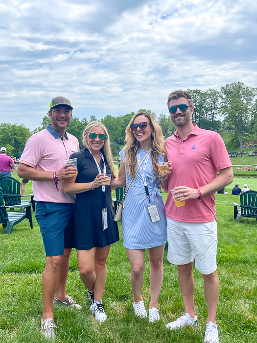 Memorial Tournament group by A Lady Goes West