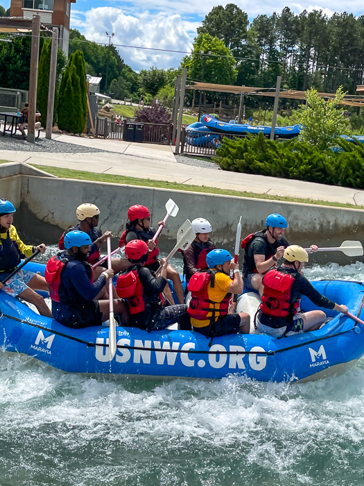 USNWC by A Lady Goes West