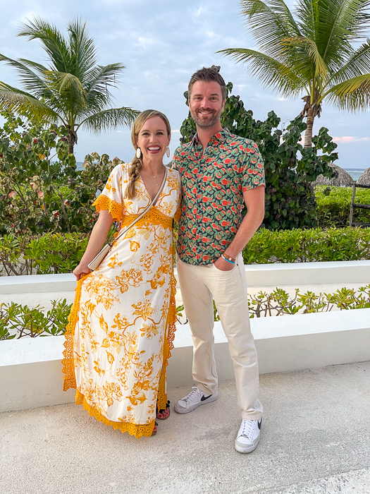 Ashley and Dave in Montego Bay in Jamaica by A Lady Goes West July 2021