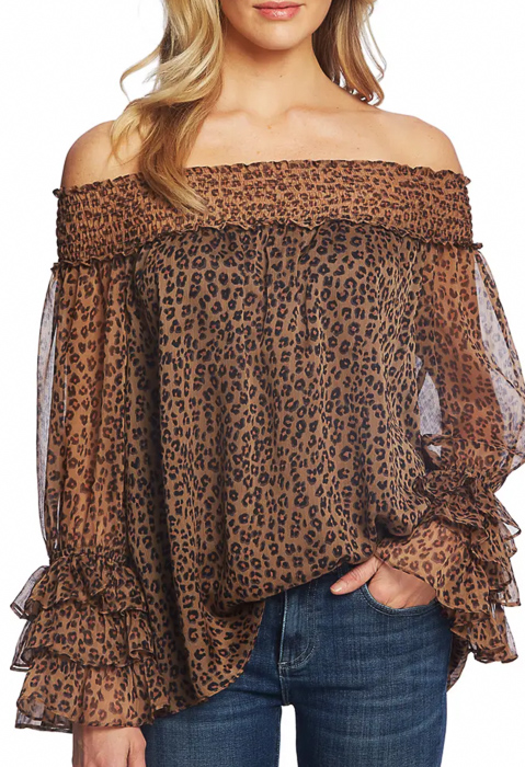 Off the shoulder top by A Lady Goes West