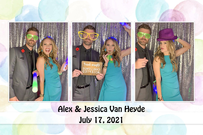 Wedding photobooth by A Lady Goes West