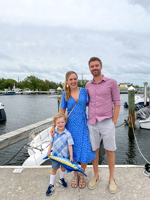 Family in Key Largo by A Lady Goes West
