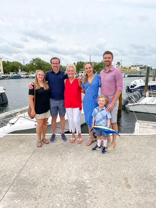 My family in Key Largo by A Lady Goes West