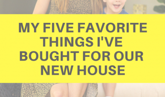 My five favorite things I've bought for our new house by A Lady Goes West