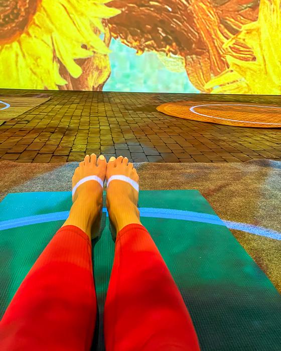 Van Gogh Yoga by A Lady Goes West
