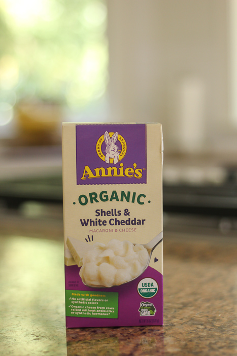 Annie's Organic Mac and Cheese by A Lady Goes West