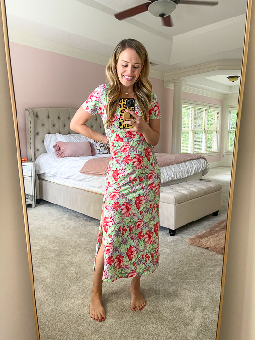 Ashley floral dress by A Lady Goes West
