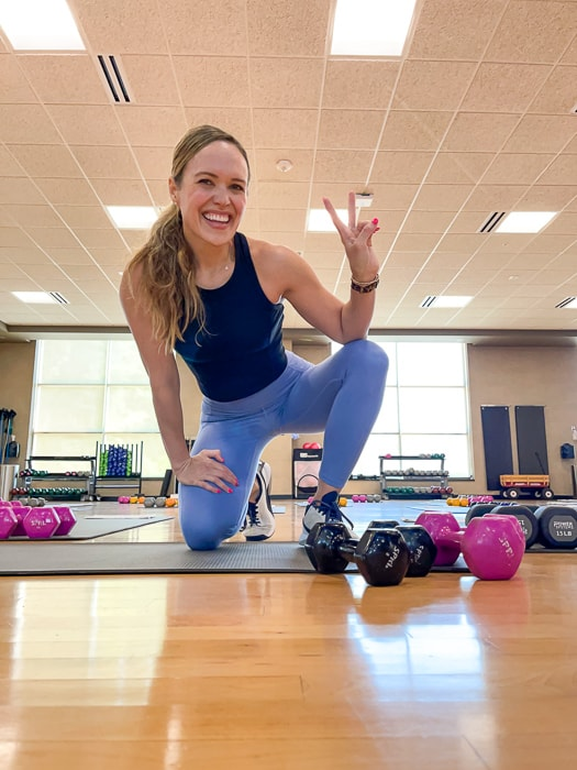 Lessons from teaching group fitness by A Lady Goes West