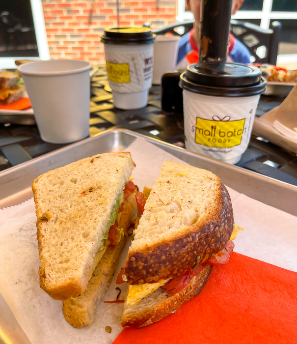 Sunflour Baking sandwich by A Lady Goes West