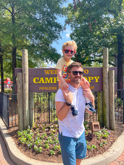 Carowinds with Dave and Brady by A Lady Goes West